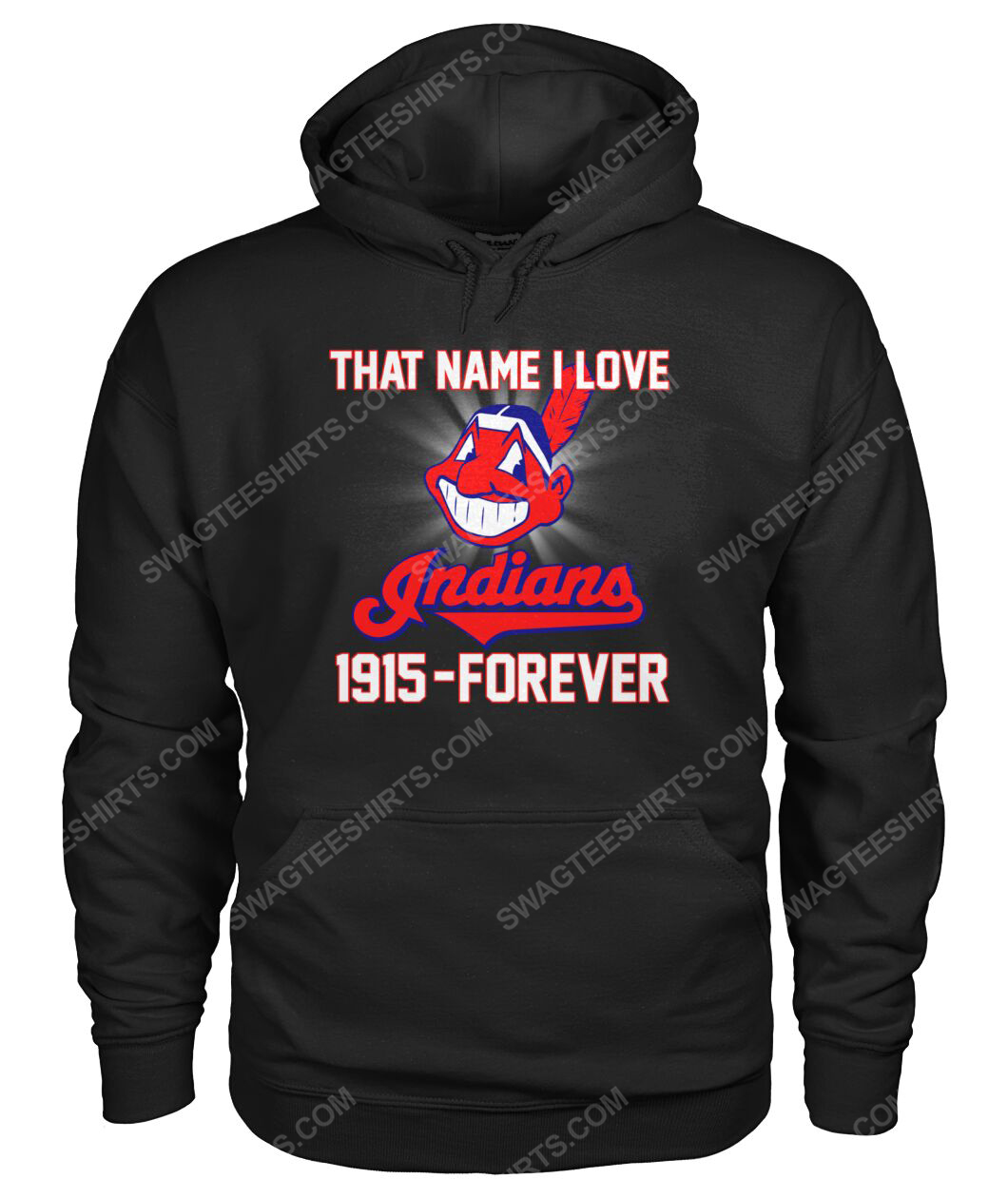 That name i love cleveland indians 1915 forever hoodie 1