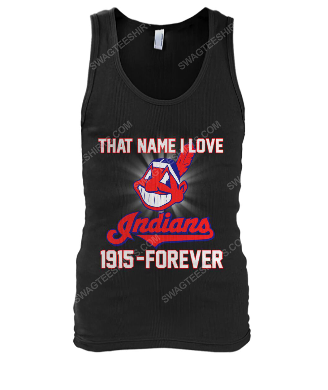 That name i love cleveland indians 1915 forever tank top 1