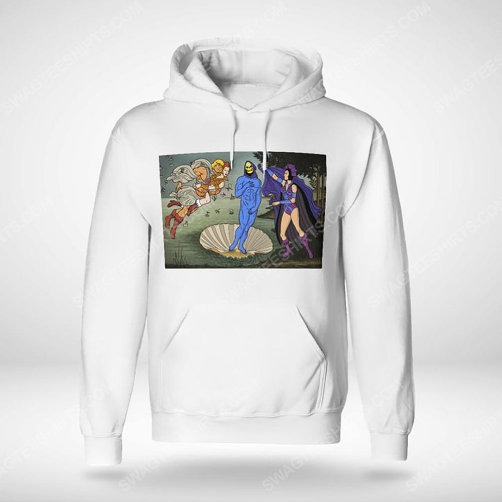 The birth of venus renaissance masters hoodie(1)