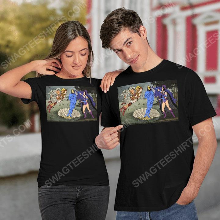 The birth of venus renaissance masters shirt 2(1)