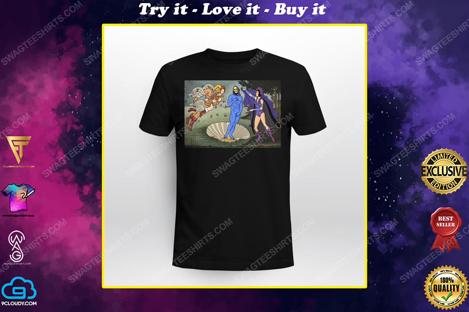 The birth of venus renaissance masters shirt
