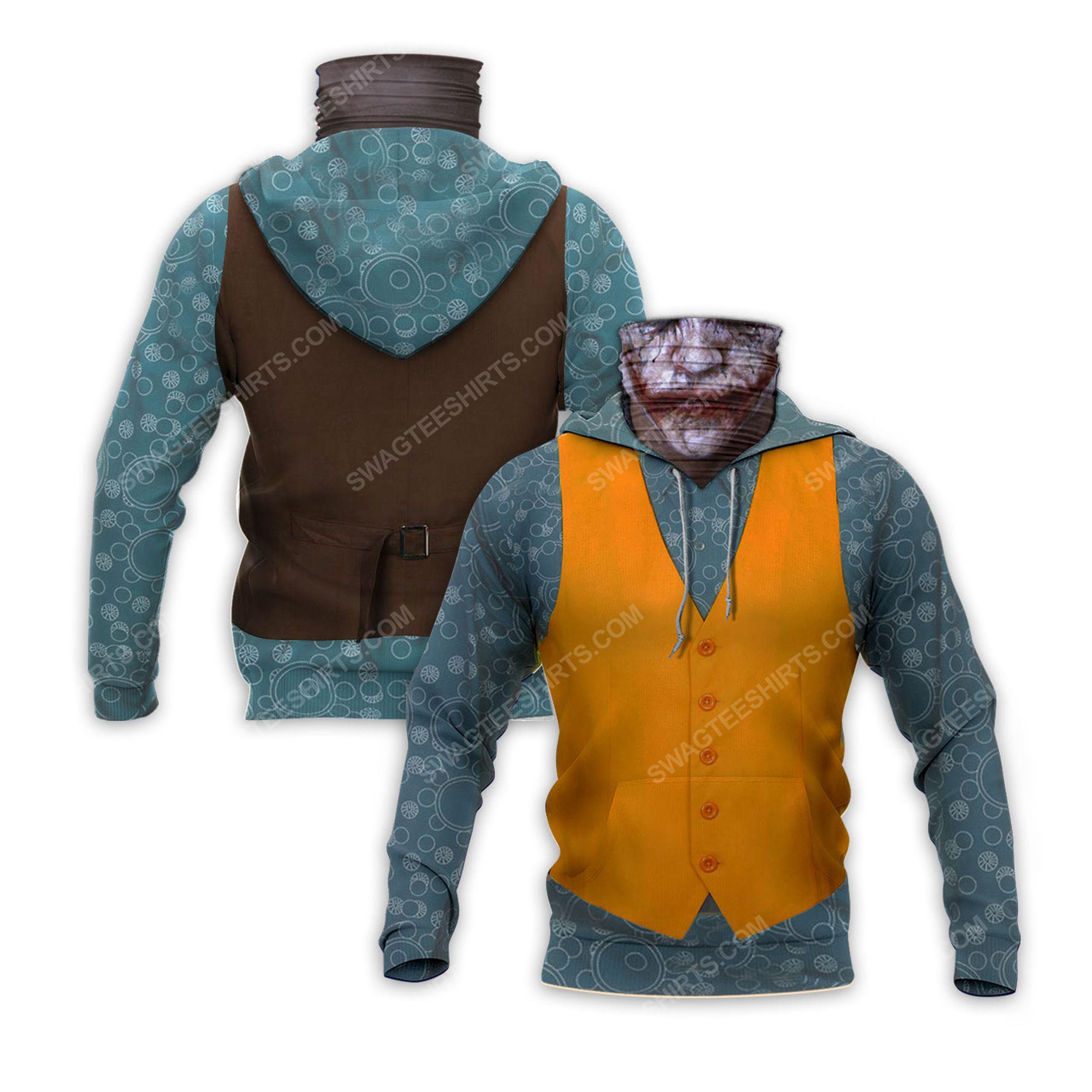 The joker movie full print mask hoodie 2(1) - Copy