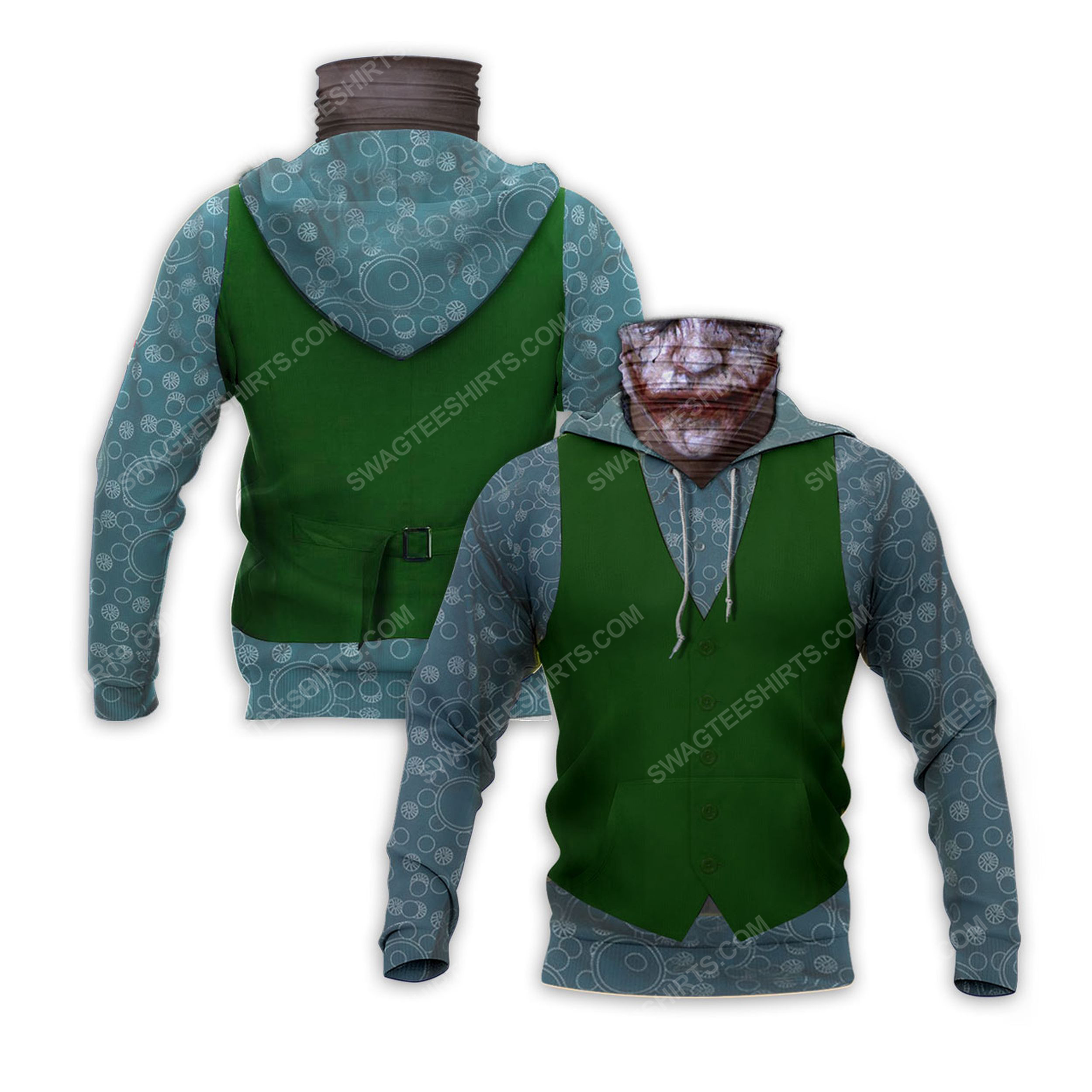 The joker with suit full print mask hoodie 2(1)