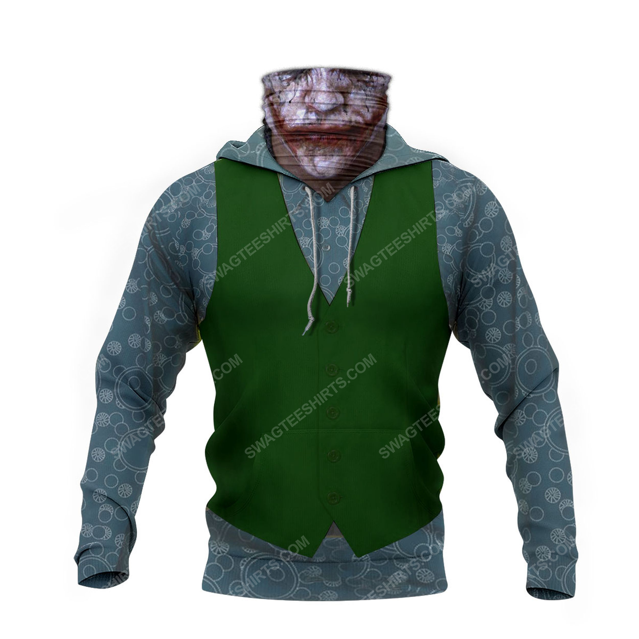 The joker with suit full print mask hoodie 4(1)