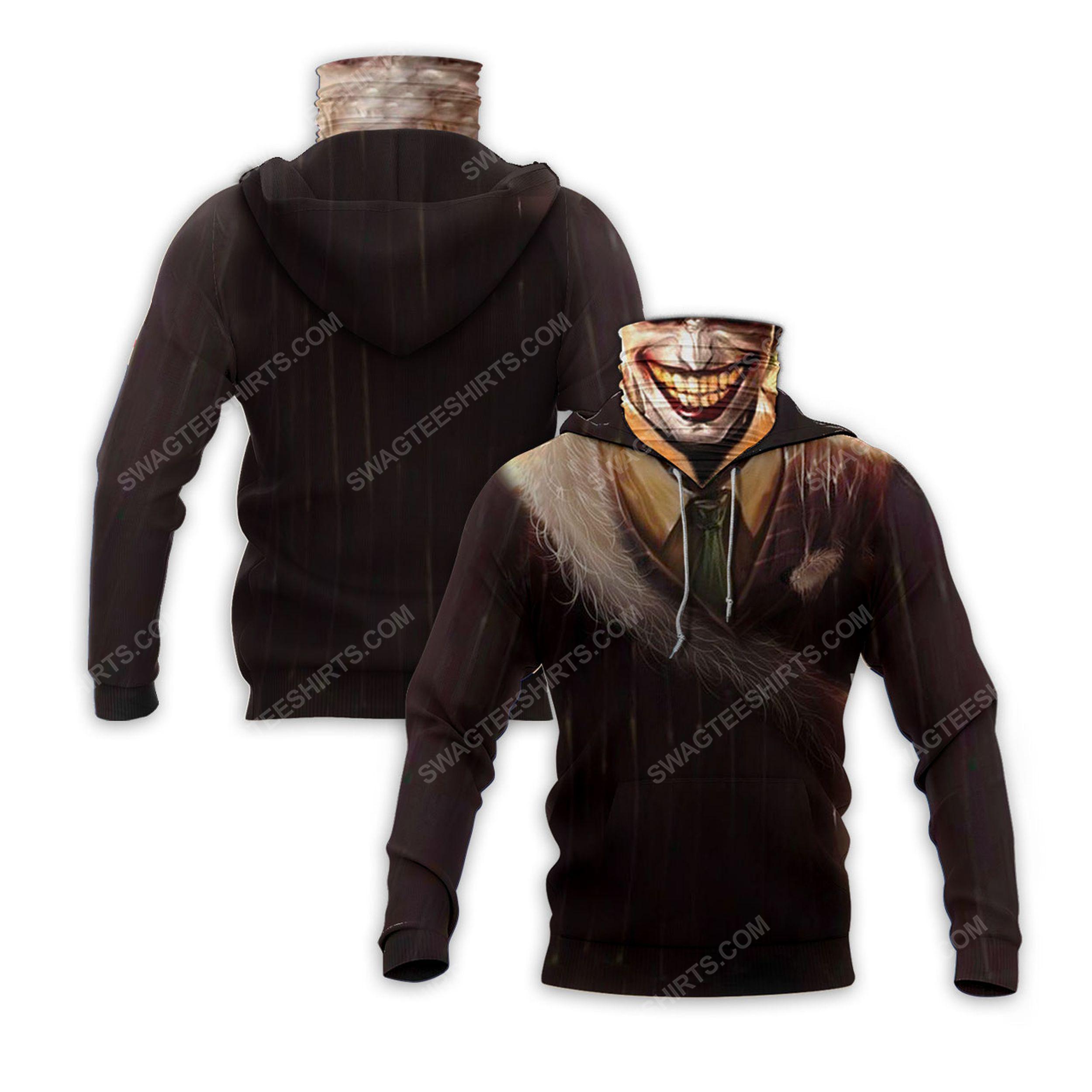The joker's smile full print mask hoodie 2(1) - Copy
