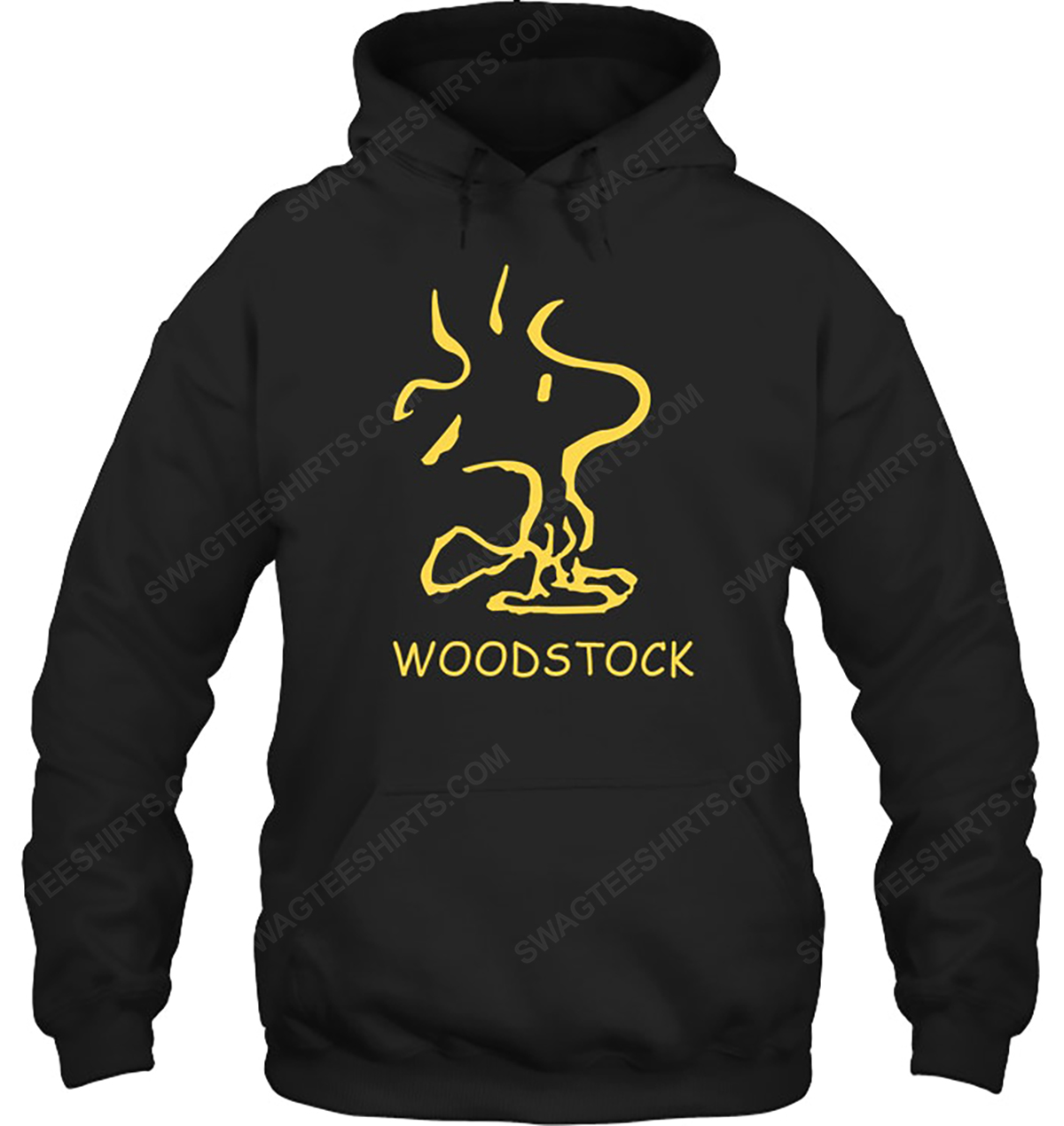 The peanuts snoopy and woodstock enjoy the sun hoodie 1