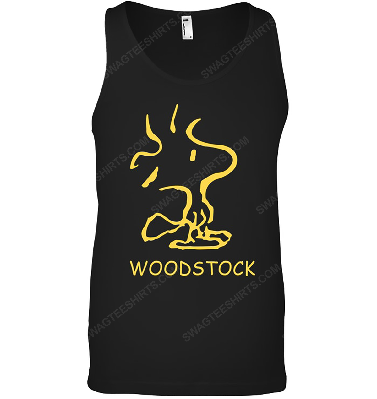 The peanuts snoopy and woodstock enjoy the sun tank top 1