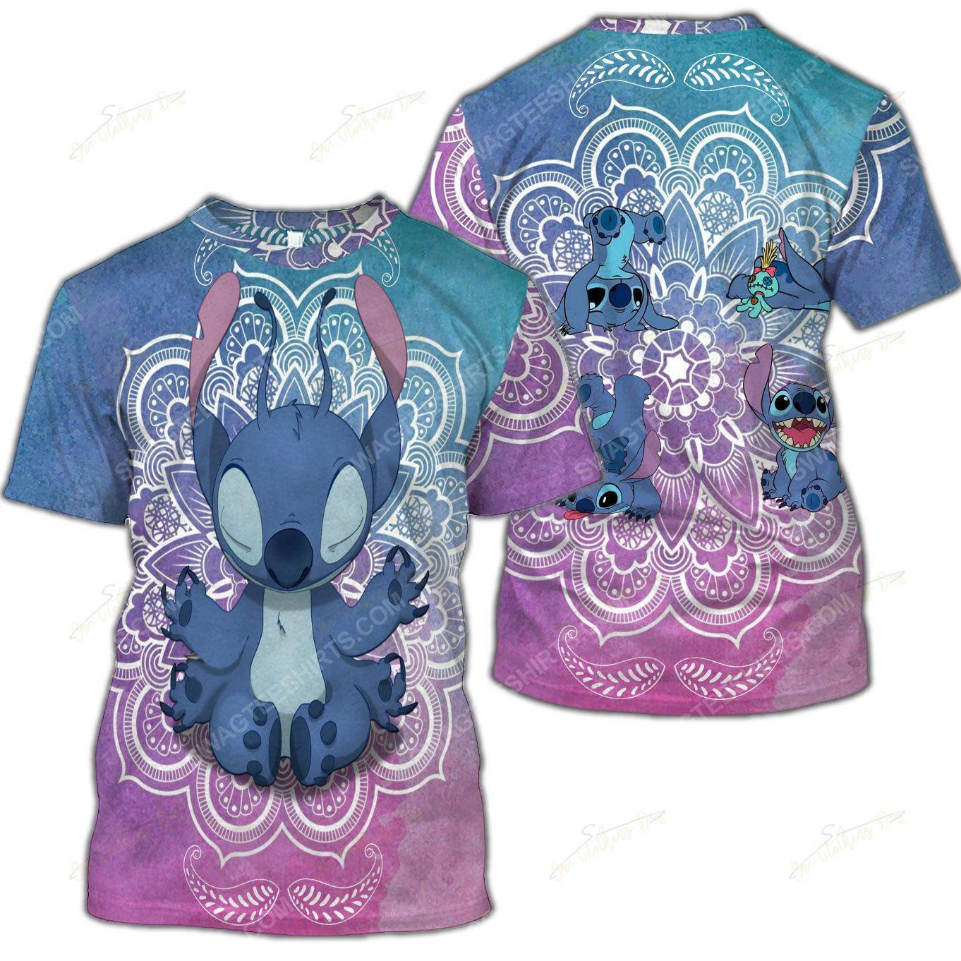 The stitch namaste full printed shirt 2(1)