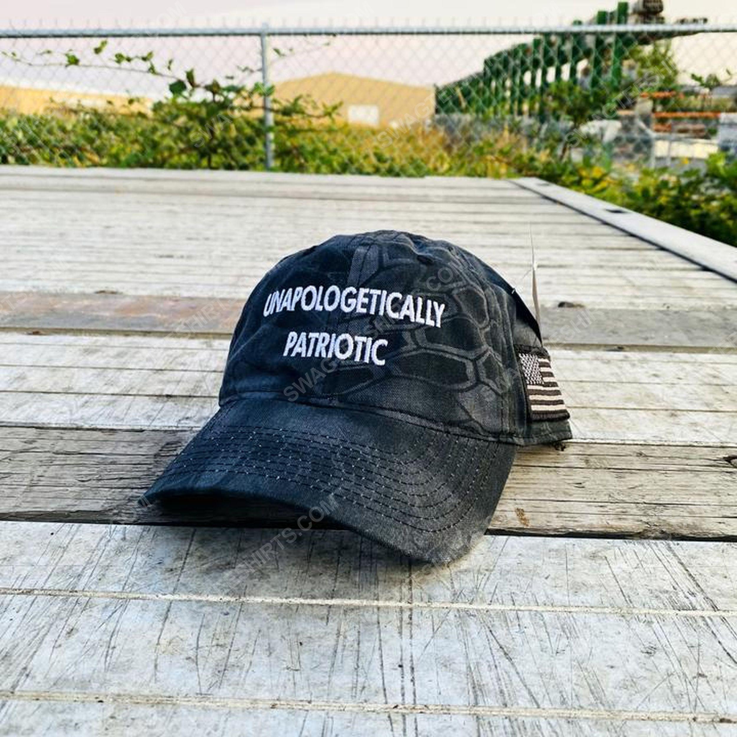 Unapologetically patriotic full print classic hat 1