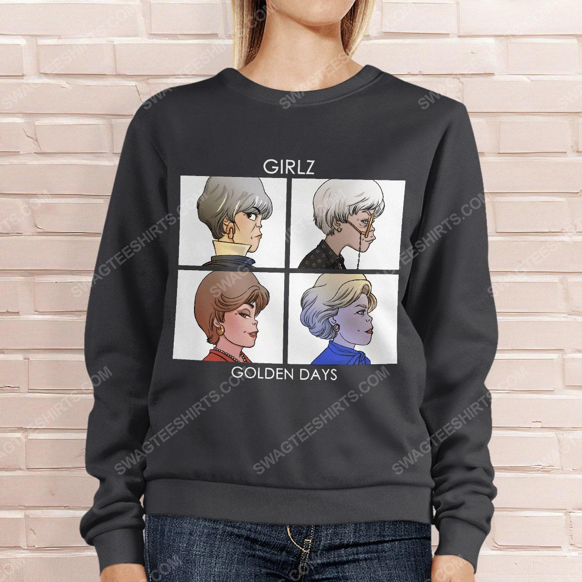 Vintage girlz golden days the golden girls sweatshirt 1(1)