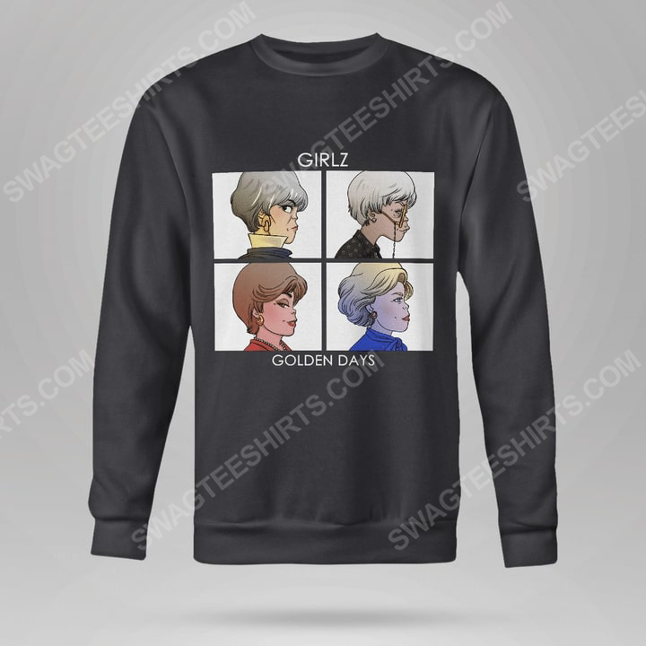 Vintage girlz golden days the golden girls sweatshirt(1)