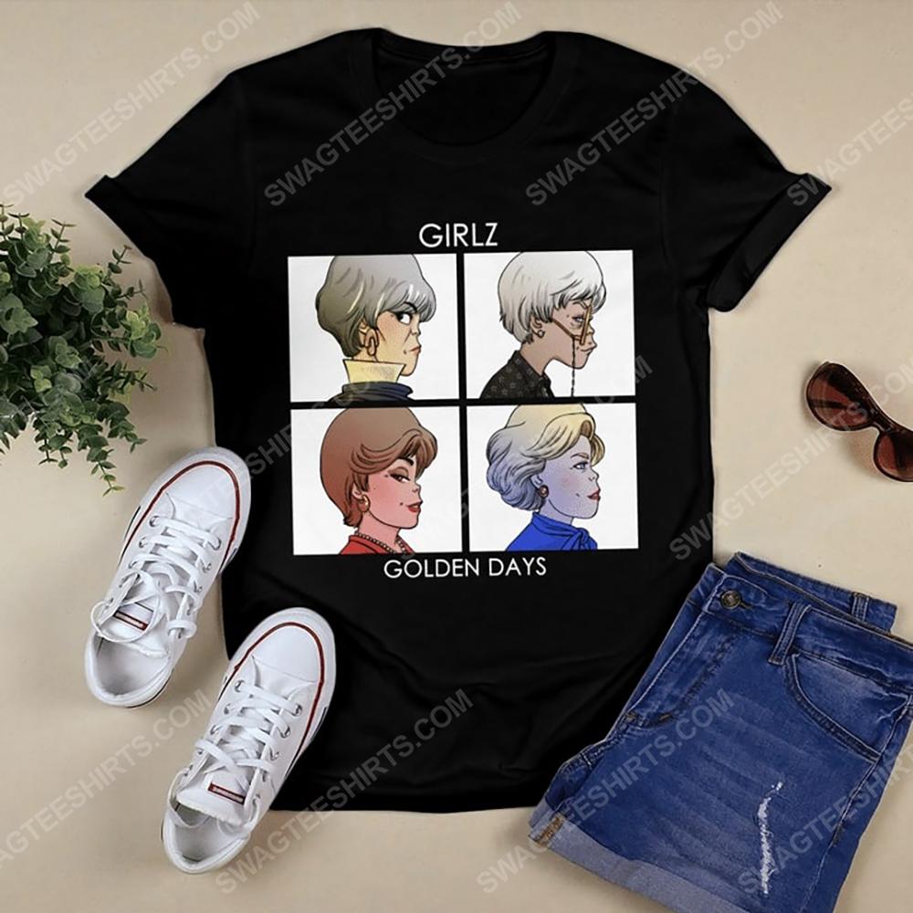 Vintage girlz golden days the golden girls tshirt(1)