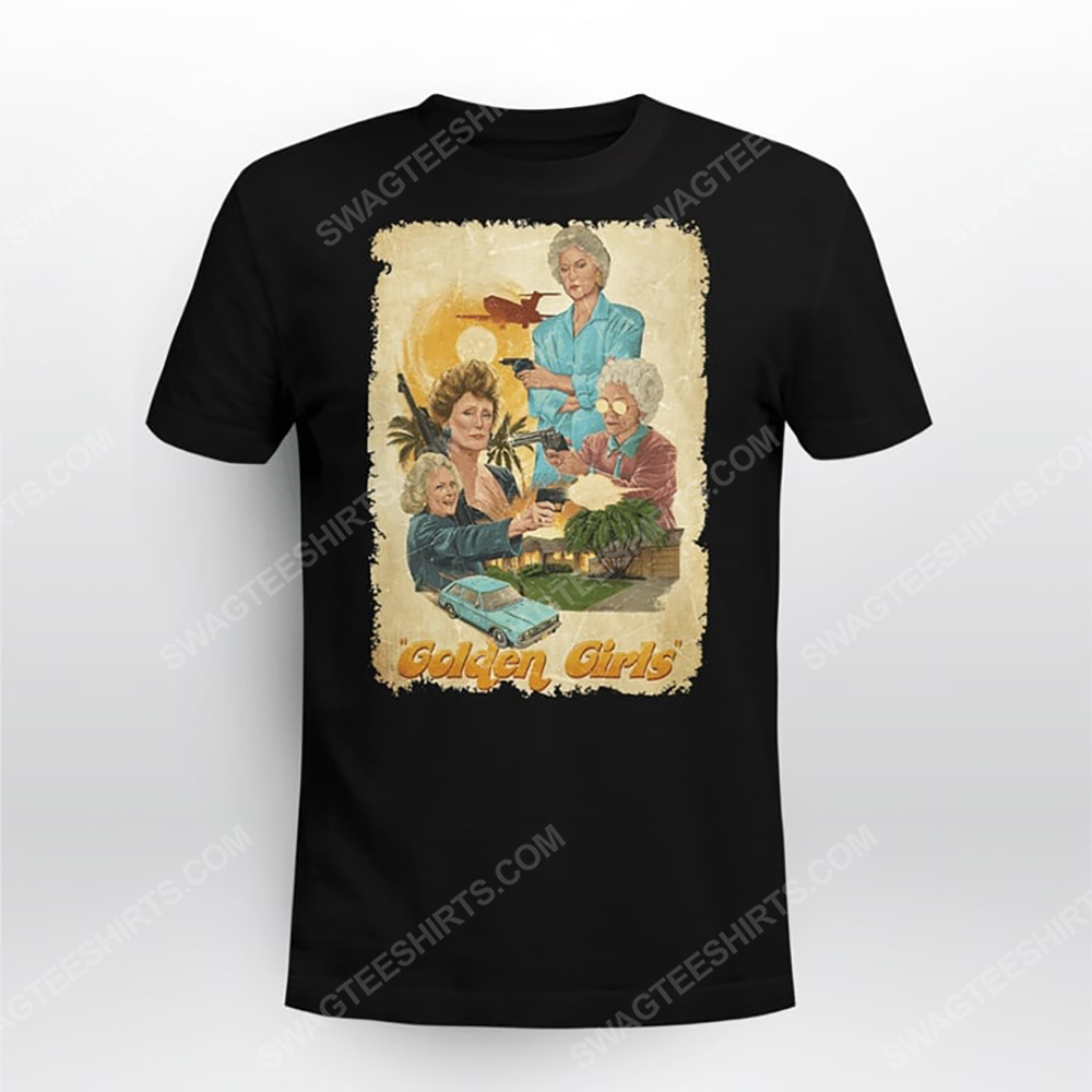Vintage the golden girls tv show tshirt(1)