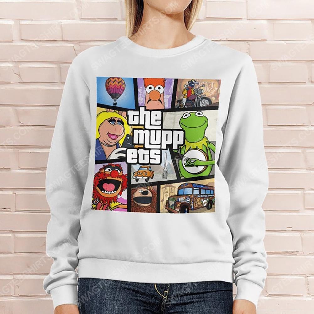 Vintage the muppets television series sweatshirt 1(1)