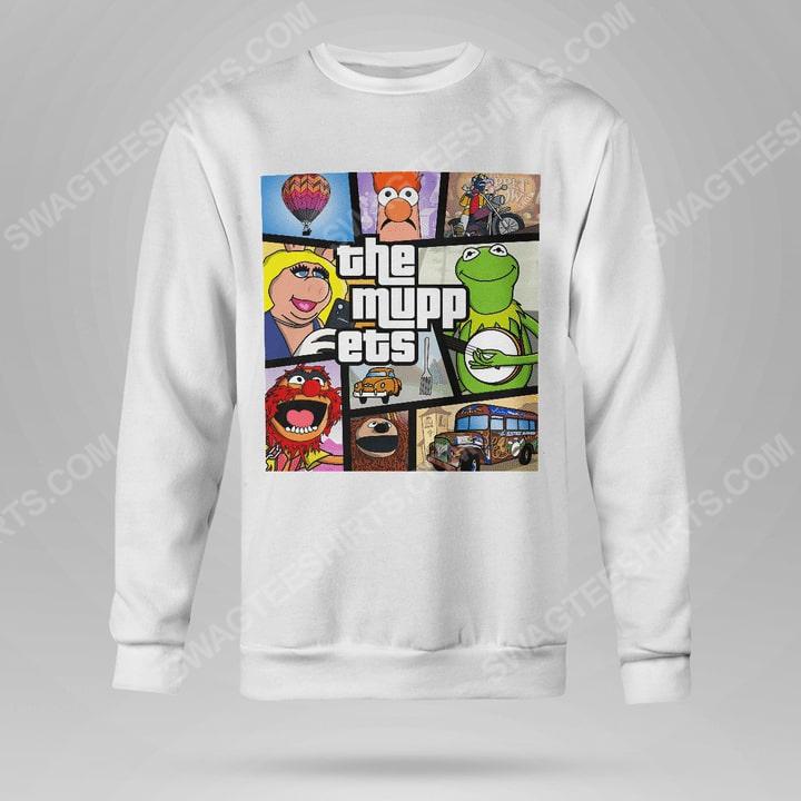 Vintage the muppets television series sweatshirt(1)