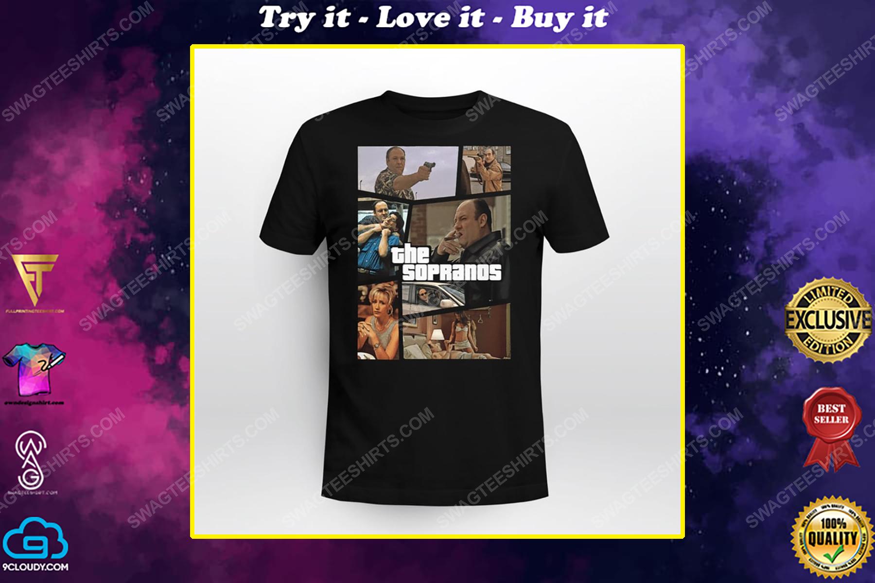 Vintage the sopranos tv show shirt
