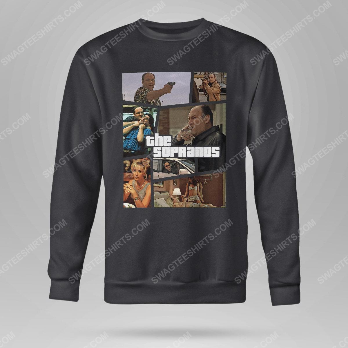 Vintage the sopranos tv show sweatshirt(1)