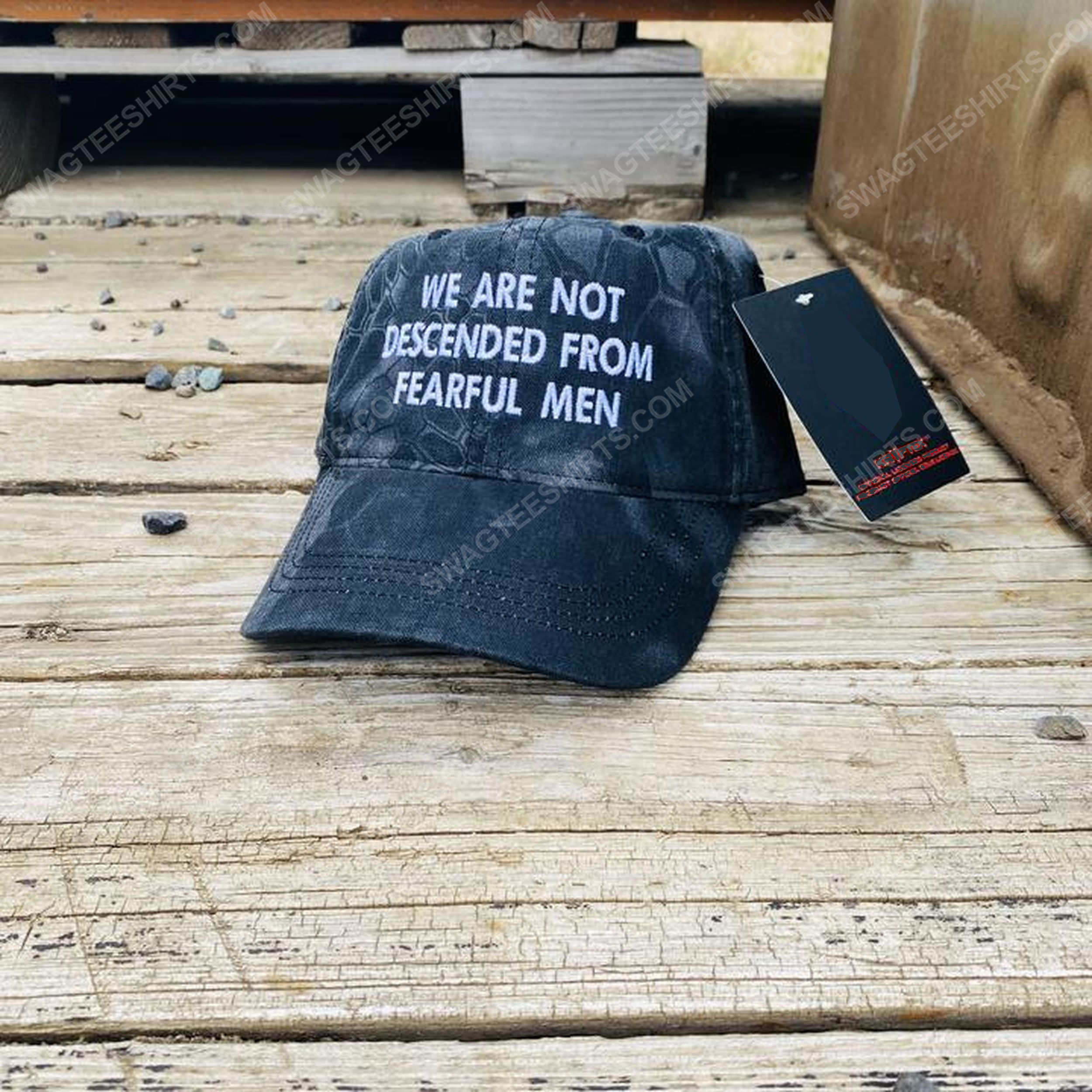 We are not descended from fearful men full print classic hat 1 - Copy