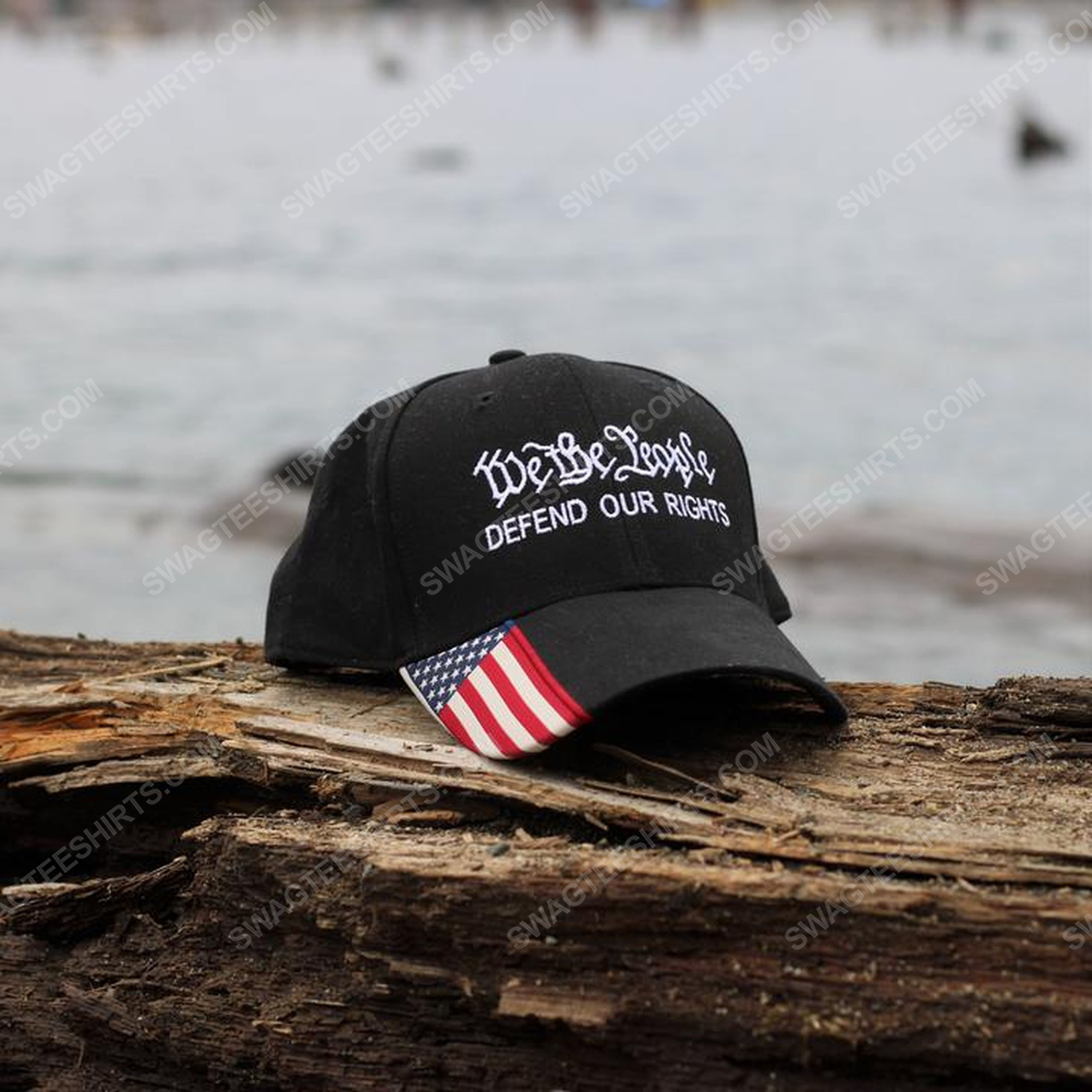 We the people defend our rights american flag full print classic hat 1