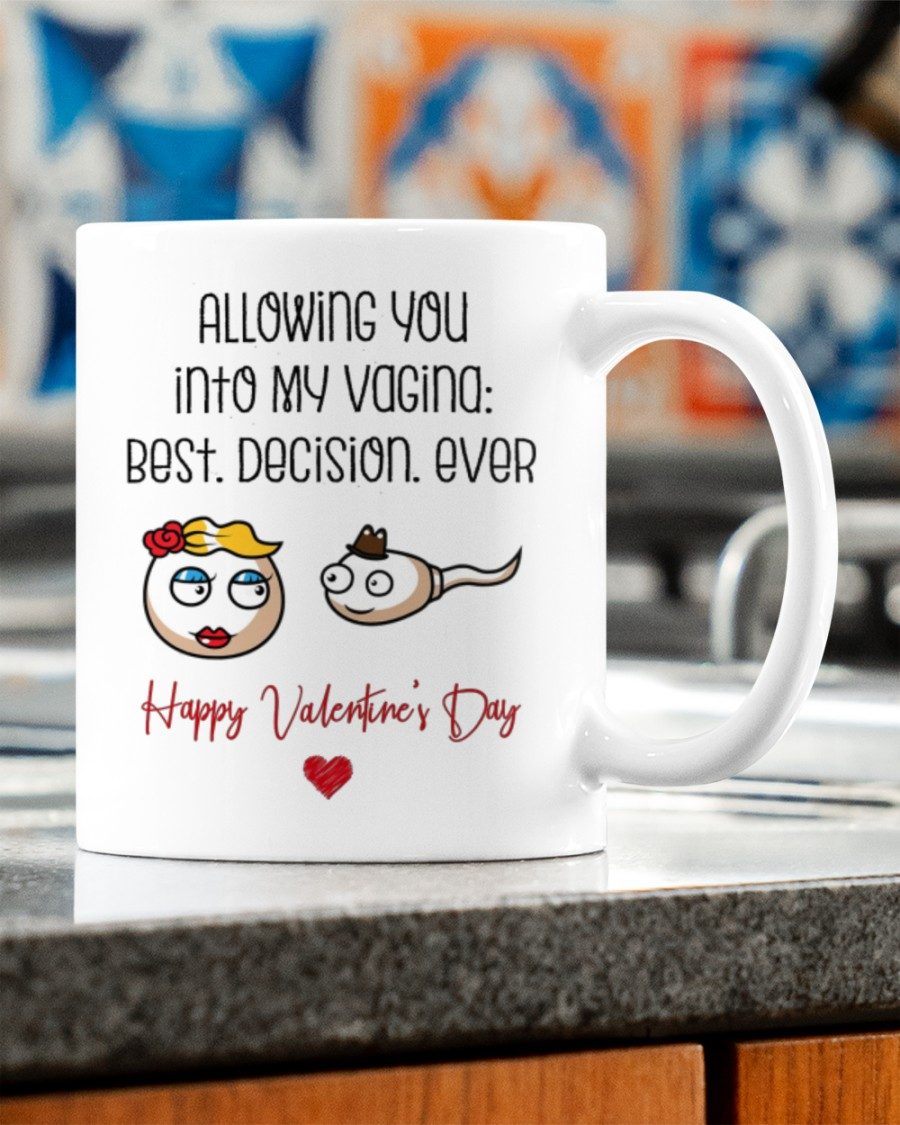 allowing you into my vagina best decision ever happy valentine's day mug 2
