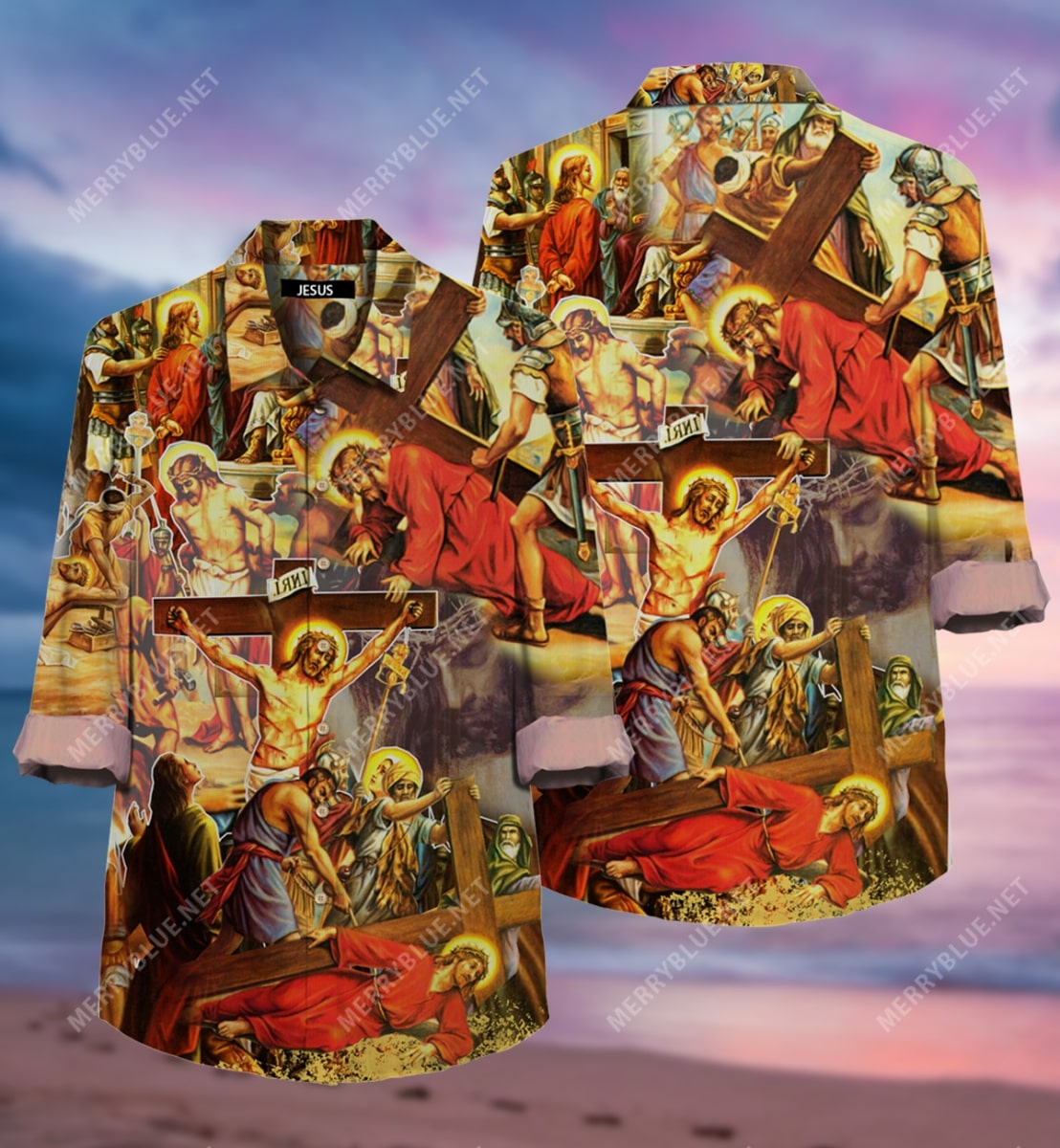 always put your hope in Jesus all over printed hawaiian shirt 3