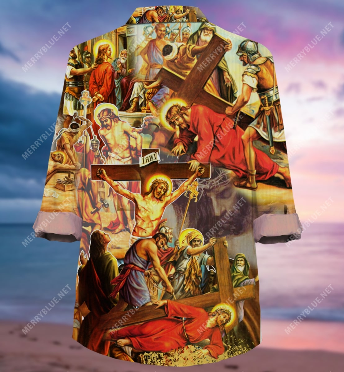always put your hope in Jesus all over printed hawaiian shirt 5