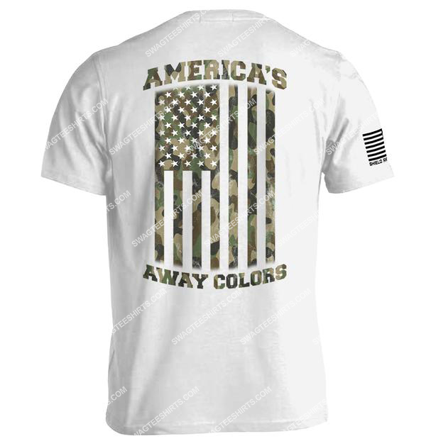 american flag camo americas away colors political shirt 4