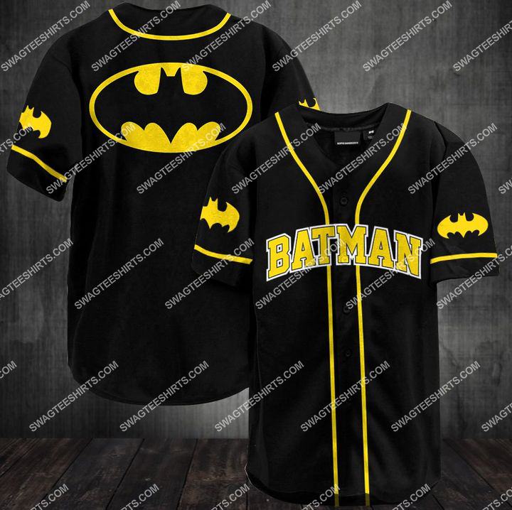 batman movie full printing baseball shirt 1