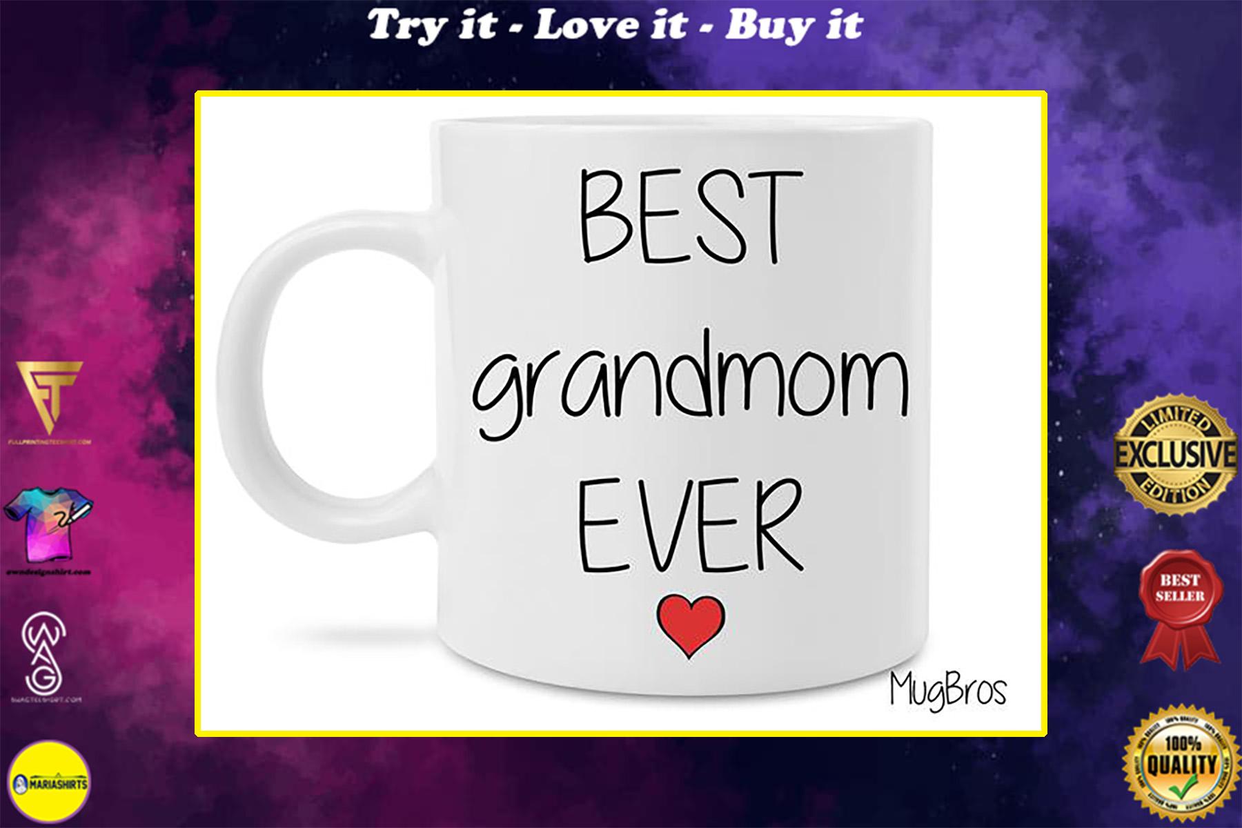 best grandmom ever coffee mug