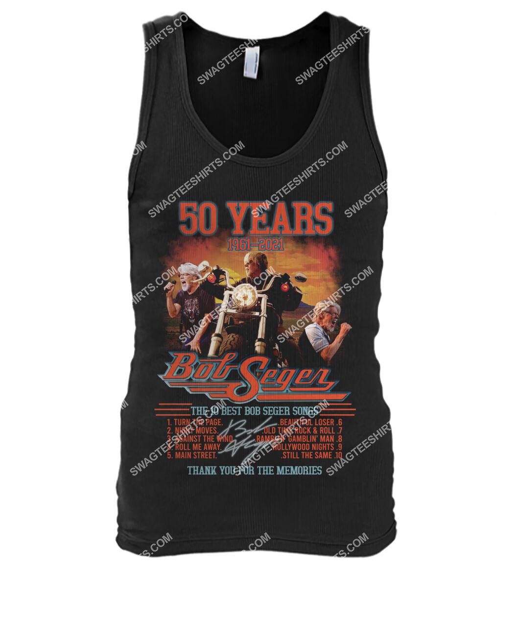 bob saget 50 years thank you for memories signature tank top 1
