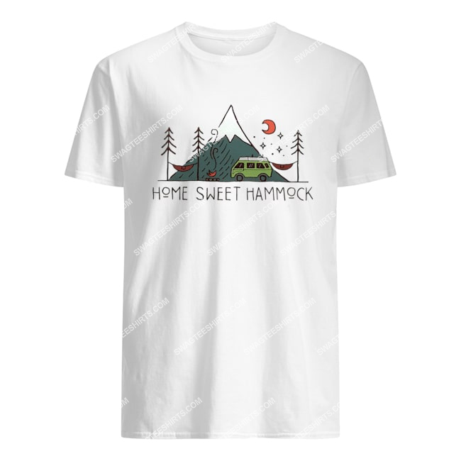 camping home sweet hammock for camper tshirt 1