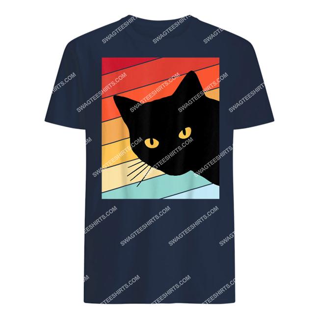 cat lover retro cat tshirt 1