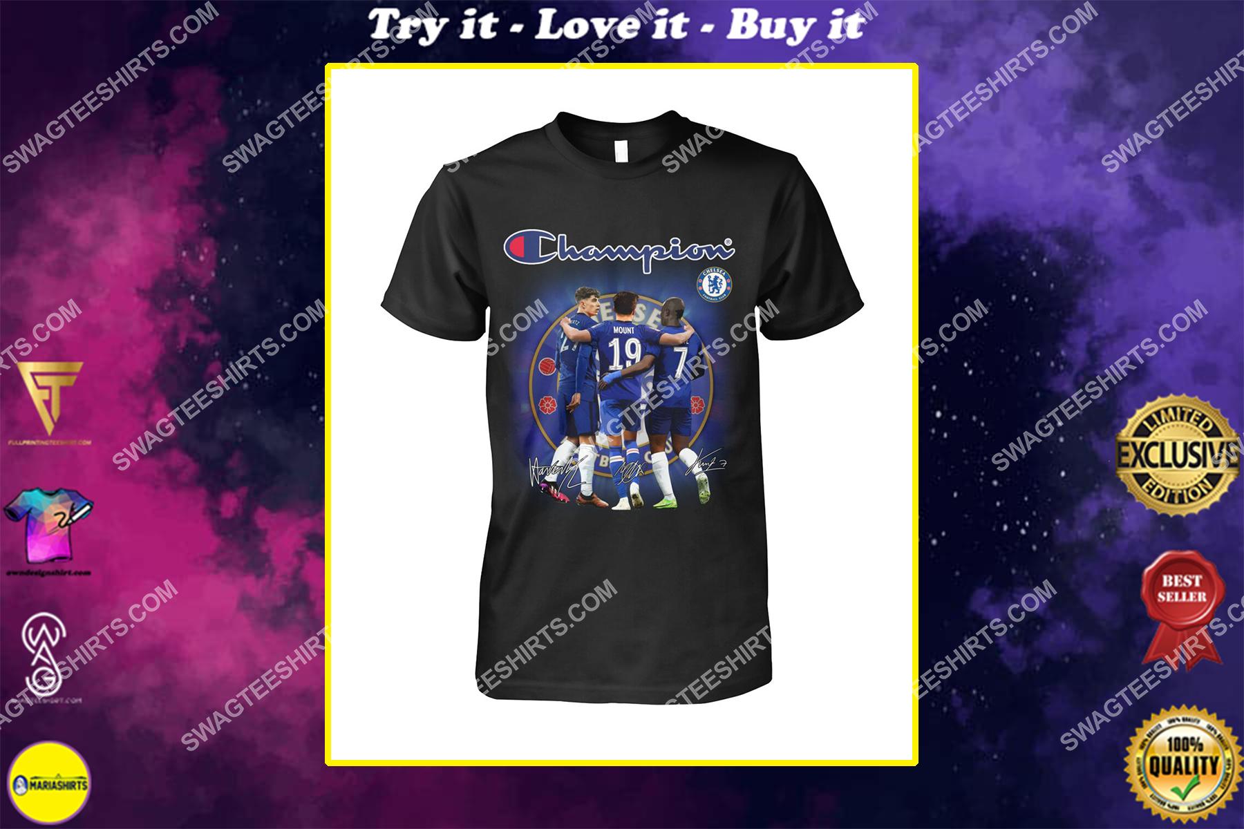 champion chelsea football club mason mount shirt
