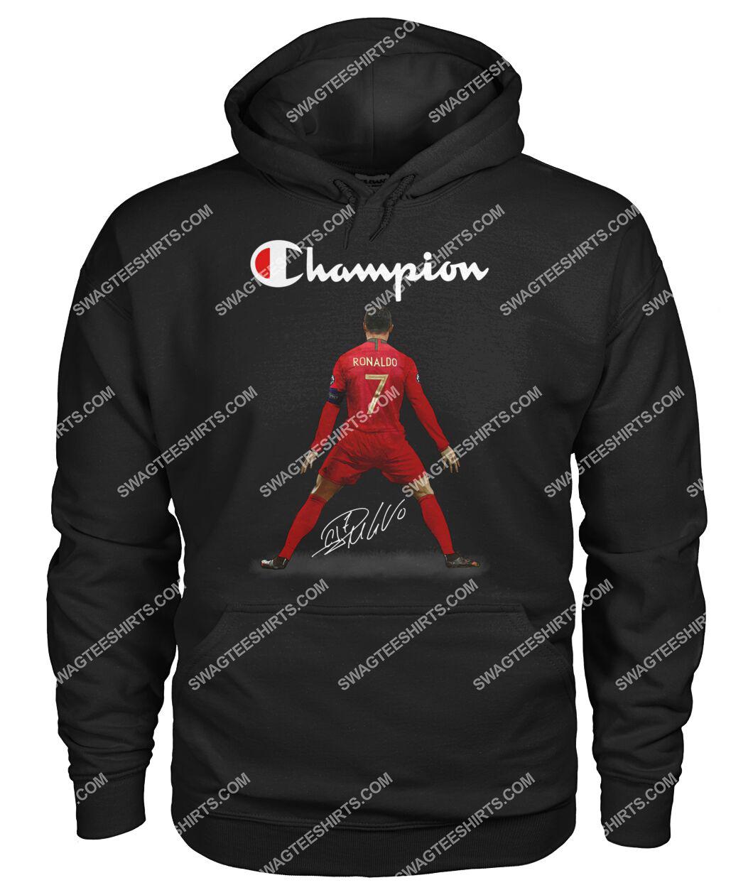 champion cristiano ronaldo signature hoodie 1