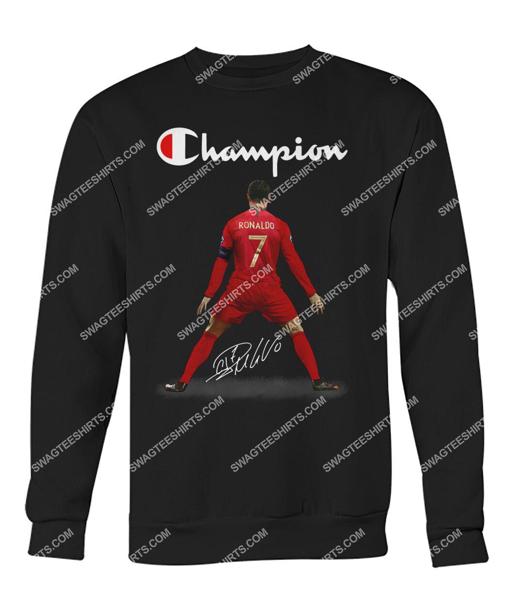 champion cristiano ronaldo signature sweatshirt 1