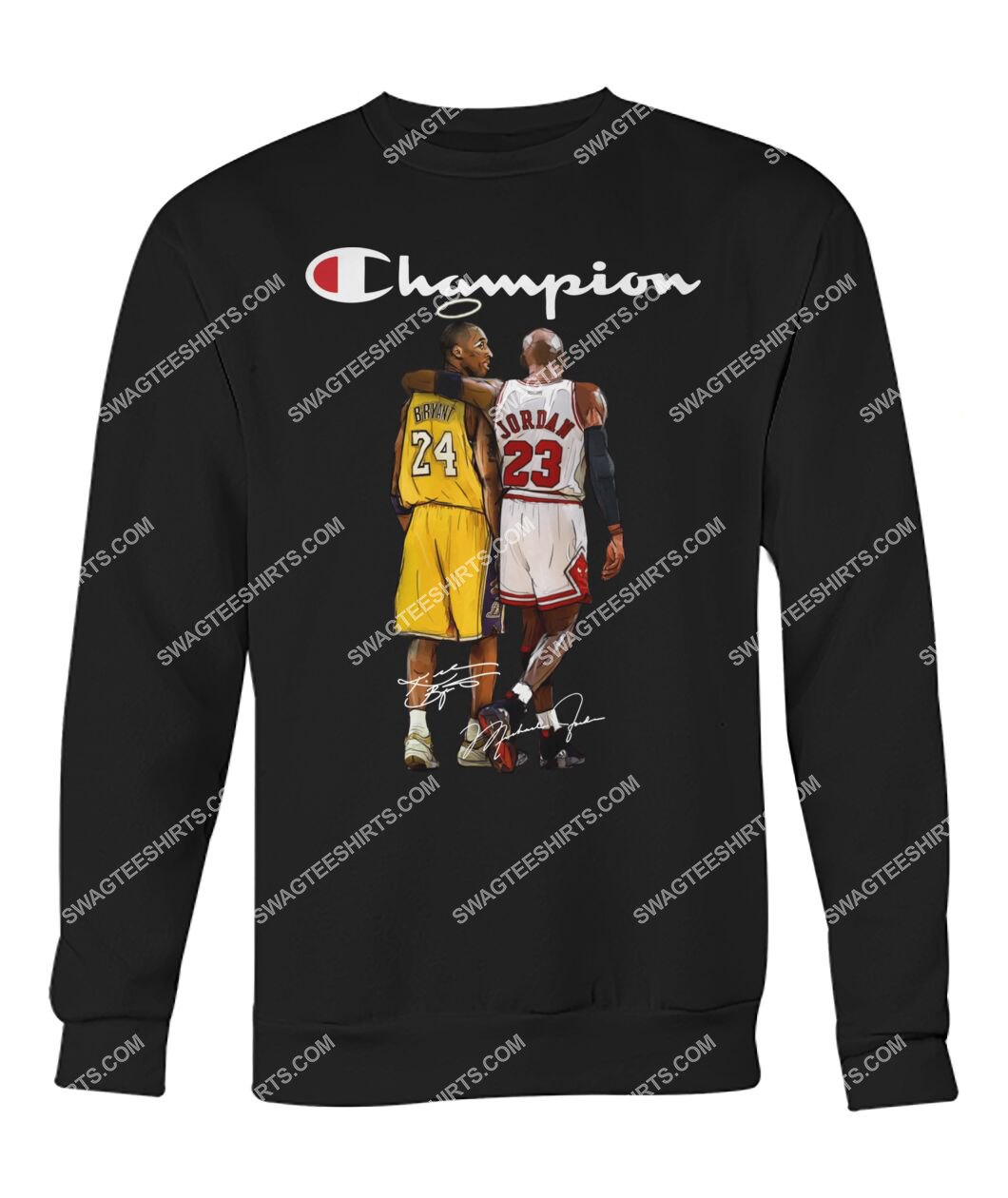 champion kobe bryant and michael jordan signature sweatshirt 1