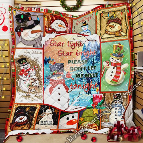 christmas snowflakes star light star bright please dont let me melt tonight quilt 2