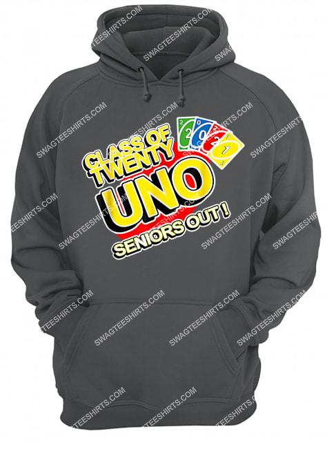class of 2021 senior gamer twenty-uno seniors out graduates hoodie 1