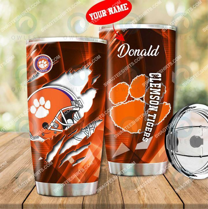 custom name clemson tigers football full printing tumbler 1(1) - Copy