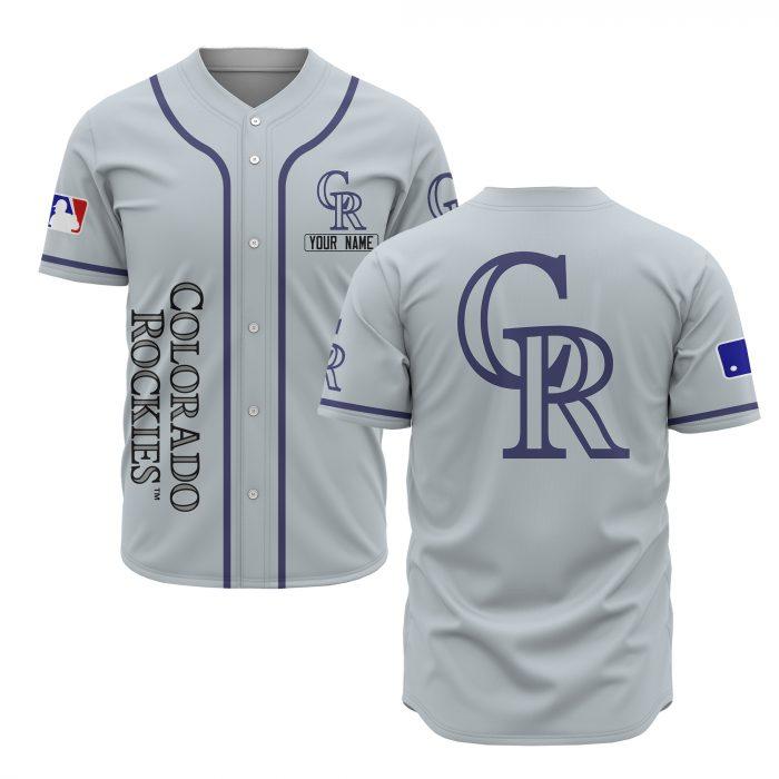 custom name colorado rockies baseball shirt 1
