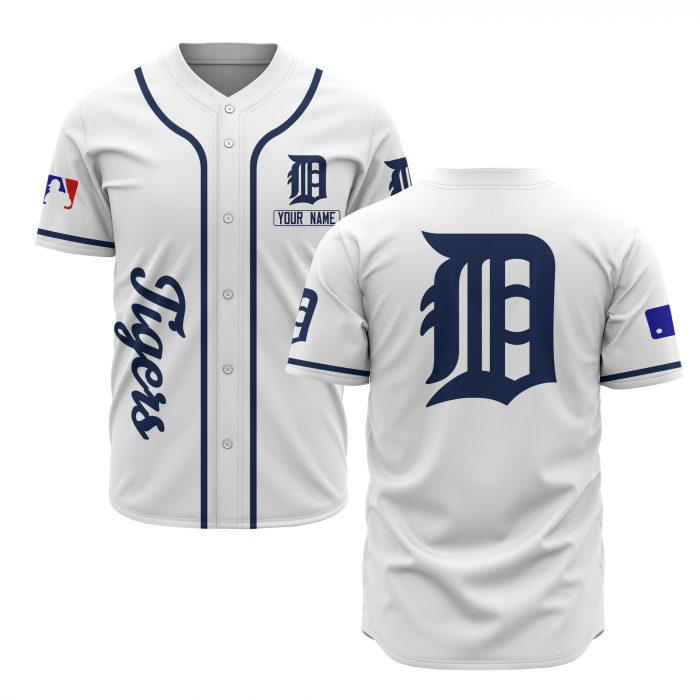 custom name detroit tigers baseball shirt 2