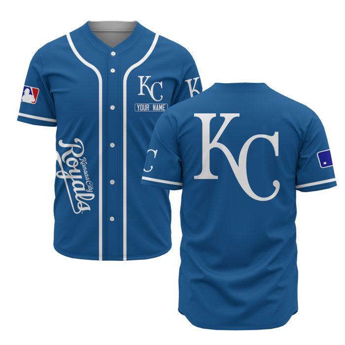 custom name kansas city royals baseball shirt 1