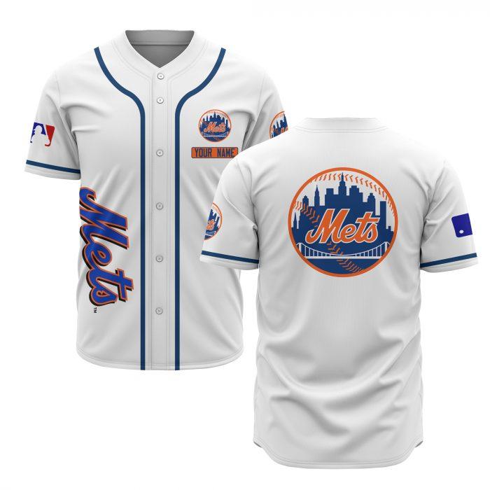 custom name new york mets baseball shirt 1