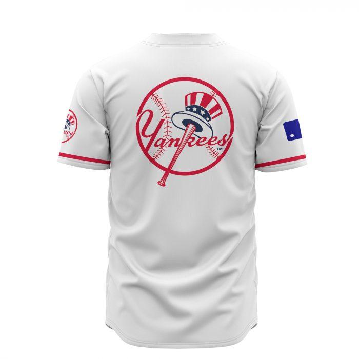 custom name new york yankees baseball shirt 4
