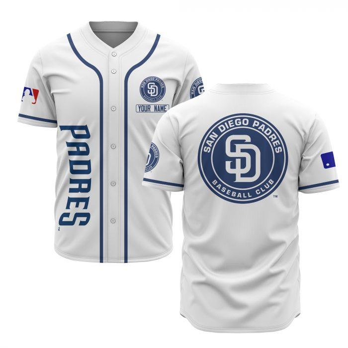 custom name san diego padres baseball shirt 2