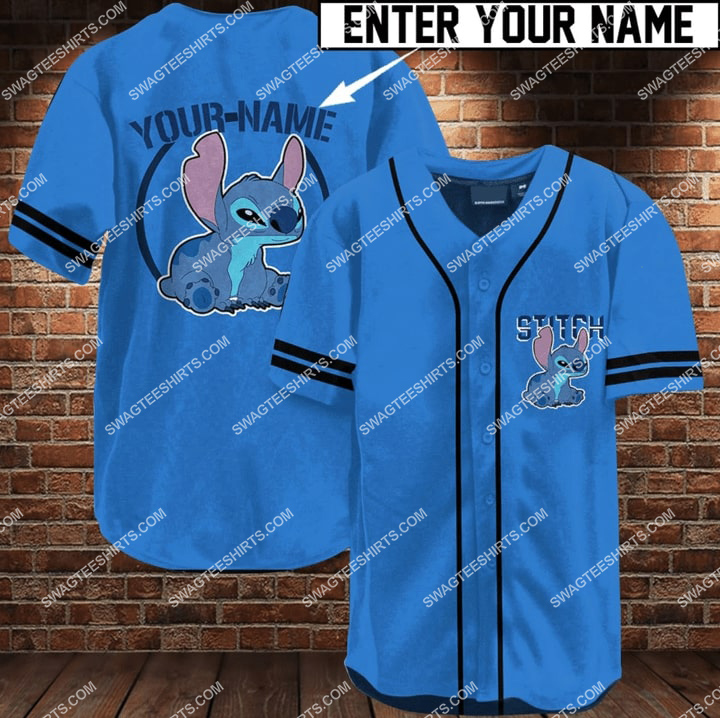 custom name stitch full printing baseball shirt 1 - Copy