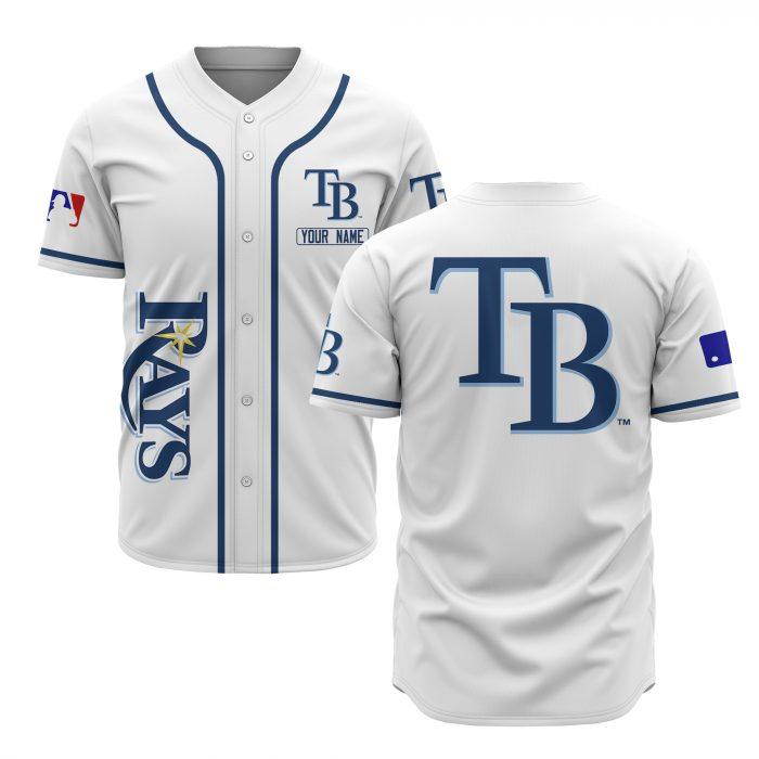 custom name tampa bay rays baseball shirt 1