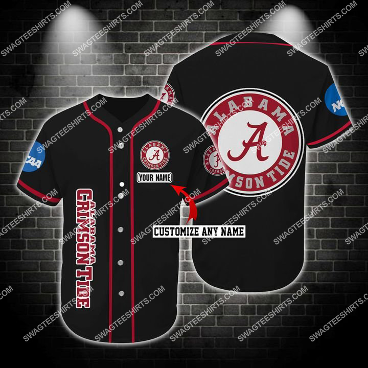 custom name the alabama crimson tide full printing baseball jersey 1(1) - Copy