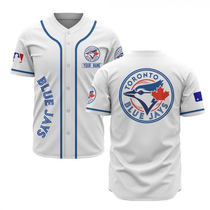 custom name toronto blue jays baseball shirt 2