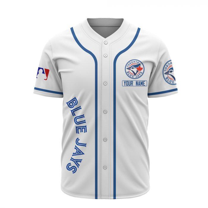 custom name toronto blue jays baseball shirt 3